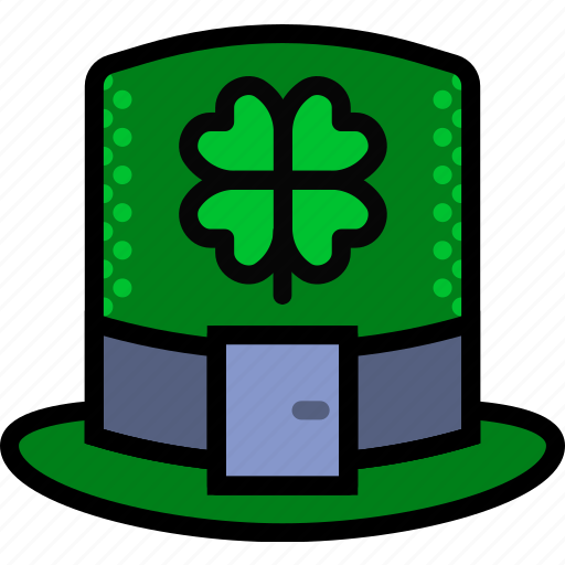 hat, holidays, leprechaun, relax, travel icon