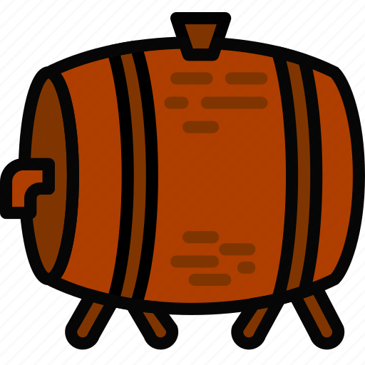 beer, holidays, keg, relax, travel icon