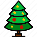christmas, holidays, relax, travel, tree icon