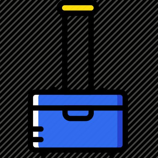 hotel, luggage, service, travel icon