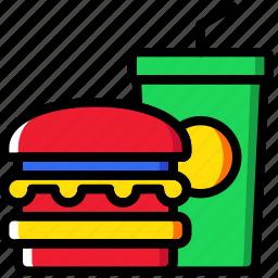food, hotel, service, travel icon