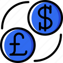 currency, hotel, service, travel icon