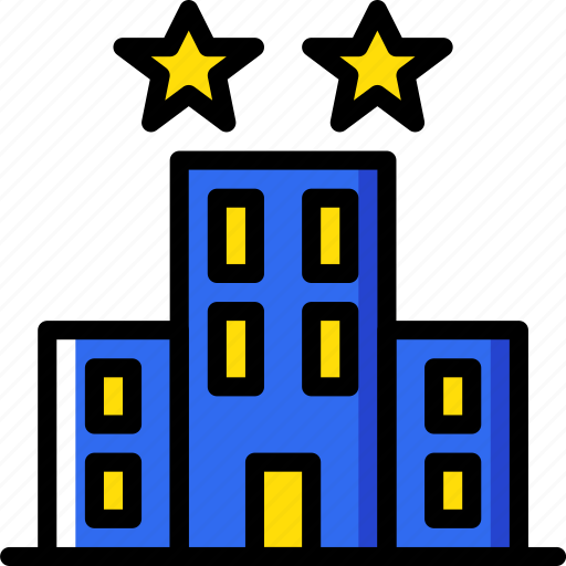 hotel, service, travel icon