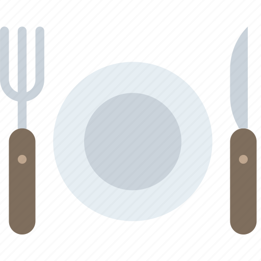cutlery, hotel, service, travel icon