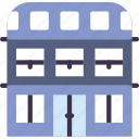 building, travel, hotel, service icon