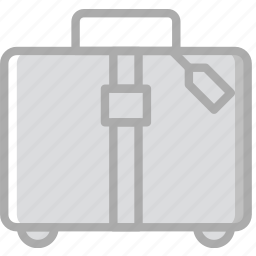 hotel, luggage, service, travel icon