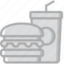 food, hotel, service, travel icon