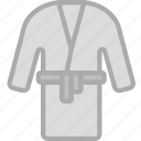 bath, hotel, robe, service, travel icon