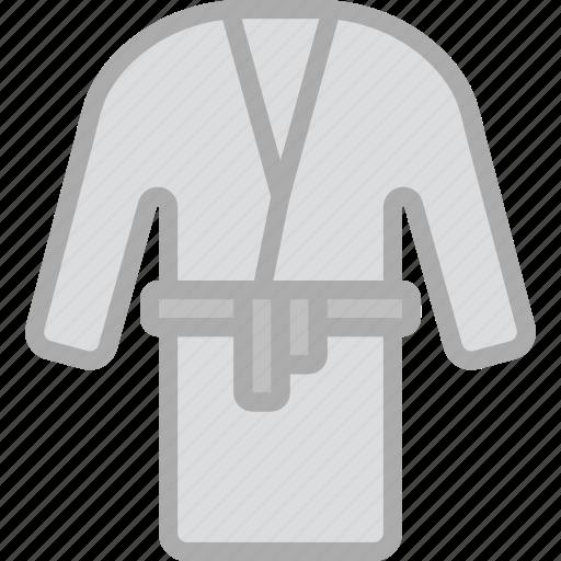 bath, hotel, robe, service, travel icon