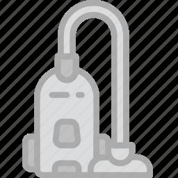 cleaner, hotel, service, travel, vacuum icon