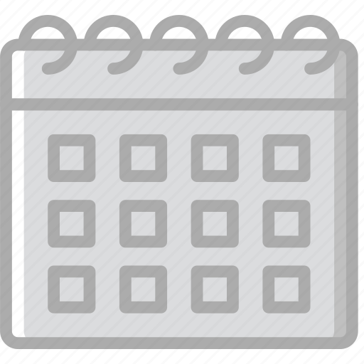 calendar, hotel, service, travel icon