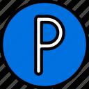 hotel, parking, service, sign, travel