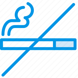 hotel, no, service, smoking, travel icon
