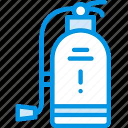 extinguisher, fire, hotel, service, travel icon