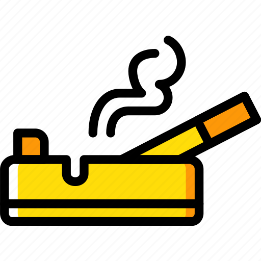 ash, hotel, service, travel, tray icon