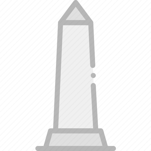 building, monument, obelisk icon