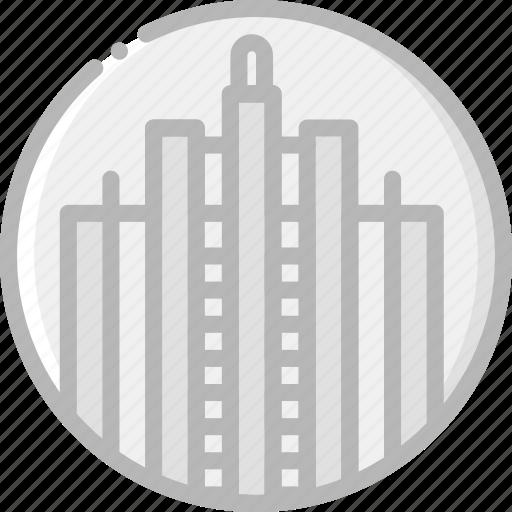 building, monument, rockefeller icon