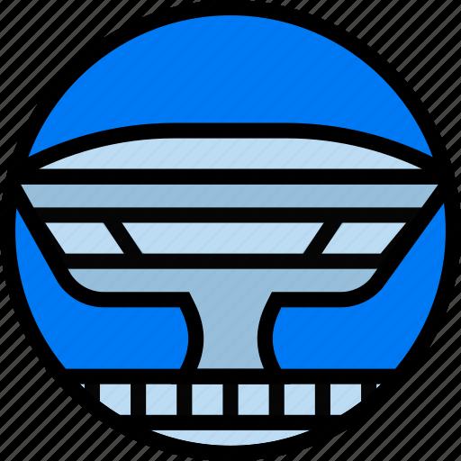 building, mac, monument icon