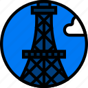 building, eiffel, monument, tower icon