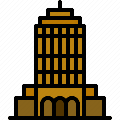 building, empire, monument, state icon