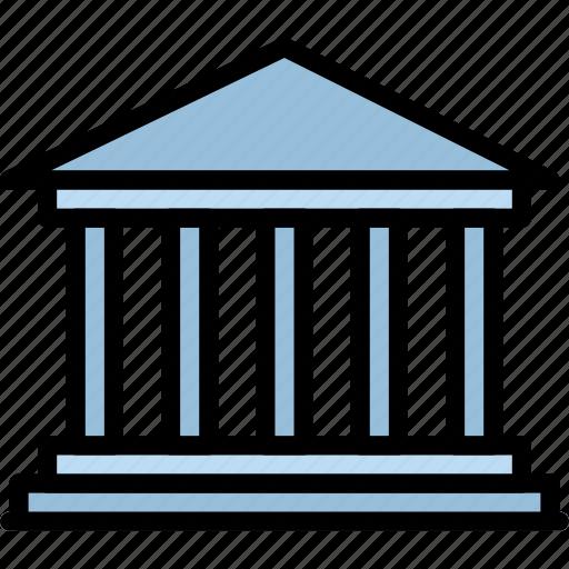 building, monument, parthenon icon