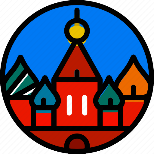 building, kremlin, monument icon