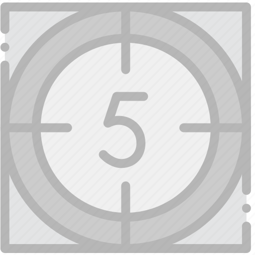 cinema, countdown, film, movie icon