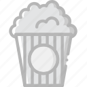 cinema, film, movie, popcorn icon