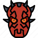 cinema, film, maul, movie icon
