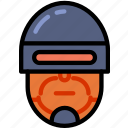 cinema, film, movie, robocop icon