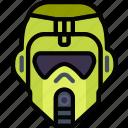 cinema, film, jungle, movie, trooper icon