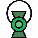 cinema, film, green, lantern, movie icon
