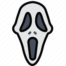 cinema, film, movie, scream icon