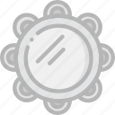 gypsy, music, play, sound, tambourine icon