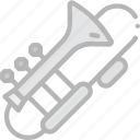 music, play, sound, trombone icon