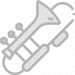 music, play, sound, trombone icon