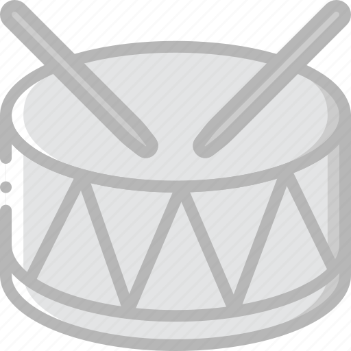 circus, drum, music, play, sound icon