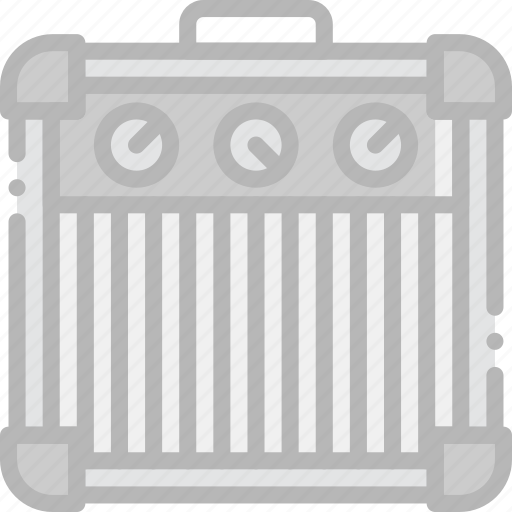 amplifier, guitar, music, play, sound icon