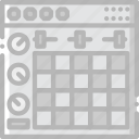 ableton, music, play, sound icon