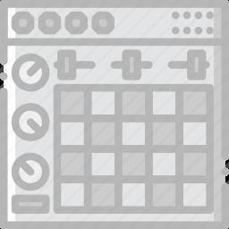 ableton, music, play, sound icon