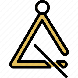 music, play, sound, triangle icon