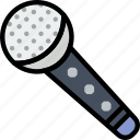 microphone, music, play, show, sound icon