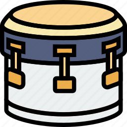 bass, drum, music, play, sound icon