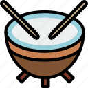 music, play, sound, timpani icon