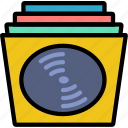 music, play, records, sound icon