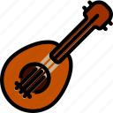 music, play, sound, ukulele icon