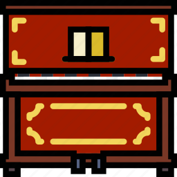 classic, music, piano, play, sound icon