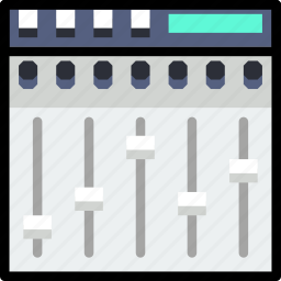 equalizer, music, play, sound icon