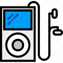 ipod, music, play, sound icon