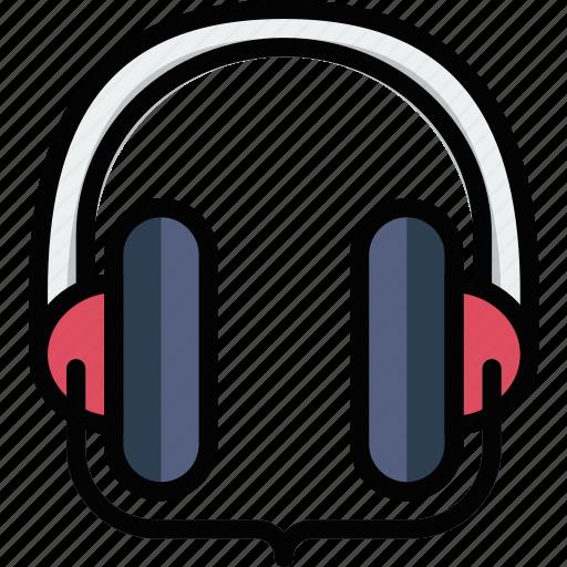 headphones, music, play, sound, studio icon